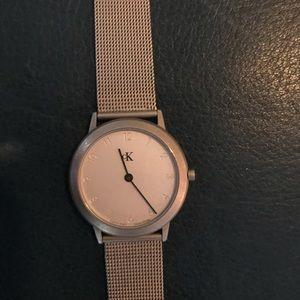 Calvin Klein Silver Watch